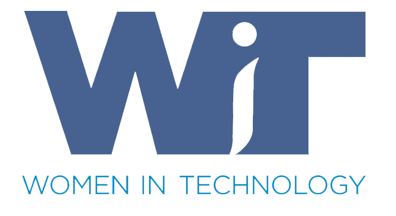 Logo for Women in Technology.